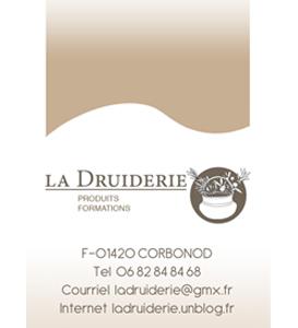 Logo contact La Druiderie