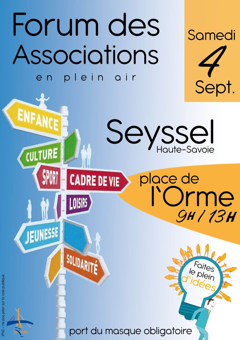 Seyssel 74 forum associations 2021